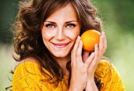 Свежие фрукты от выпадения волос