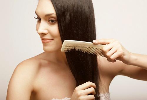 Волосы после облепиховой маски