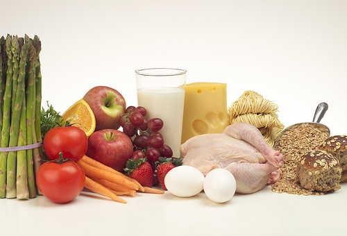Продукты с высоким содержанием витамина B6