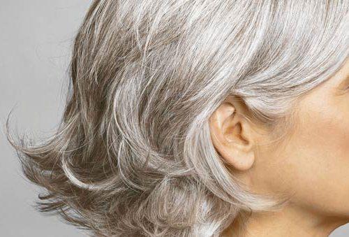 Как вылечить седину волос