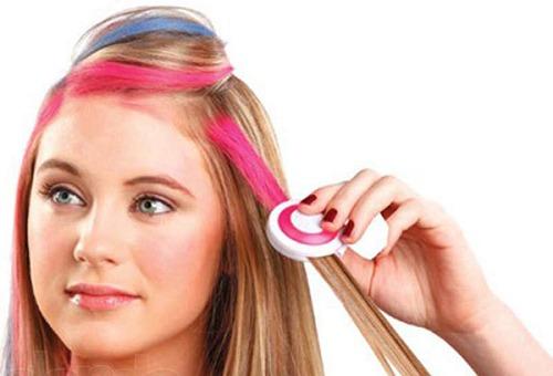 Секреты эффективного окрашивания волос мелками