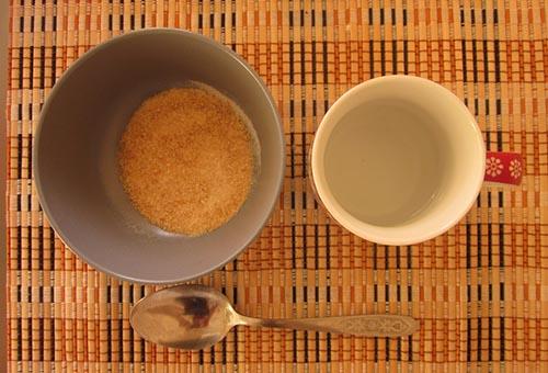 Базовые ингредиенты маски с желатином