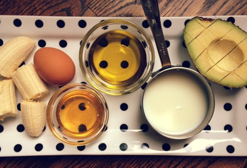 Популярные ингредиенты масок для блеска волос
