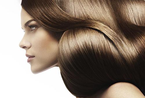 Эффект от профессионального глазирования волос