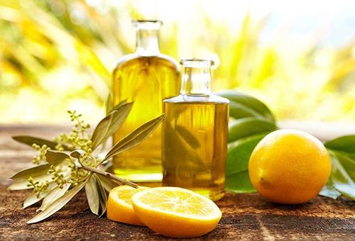 Масло и лимон для выпрямления волос дома