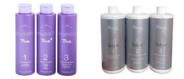 Кератиновое восстановление и выпрямление волос на брендах Trissola и Maciez