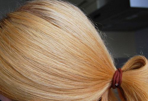 убрать рыжину волос