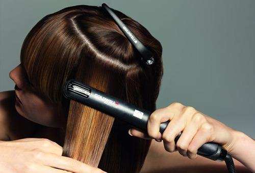 Правила выпрямления волос утюжком