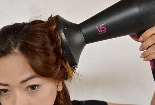Правила сушки волос феном