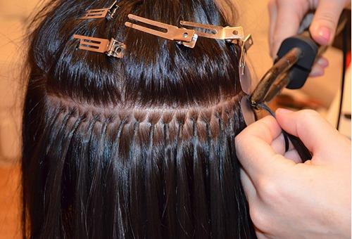 Методика наращивания волос