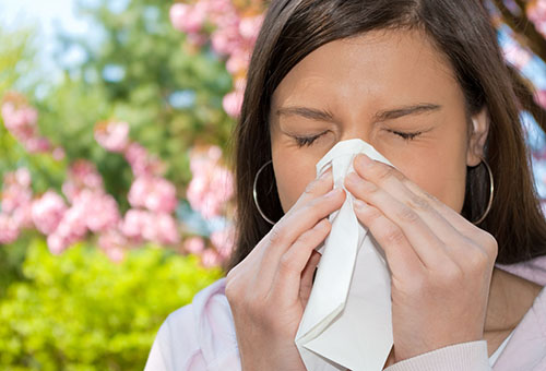 Девушка-аллергик