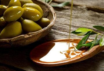 Плоды и масло оливы