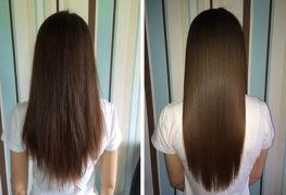 Эффект от ламинирования волос