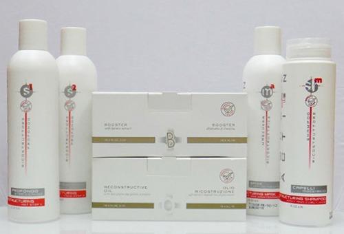 Средства для салонного ламинирования волос