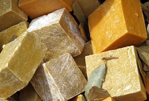 Разные виды хозяйственного мыла