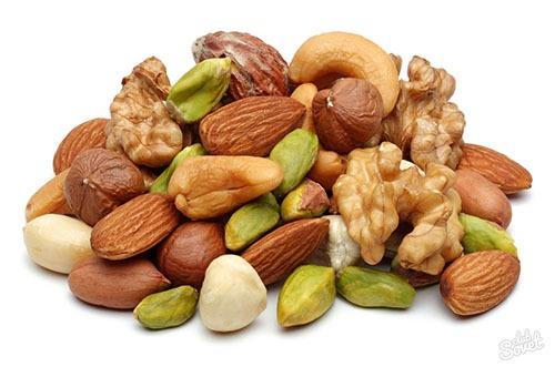 Орехи разных видов