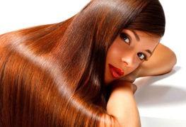 Волосы после цветного ламинирования