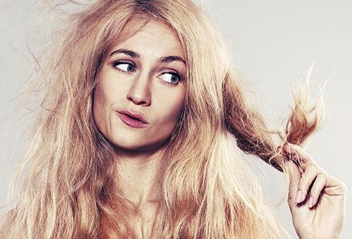 Пережженные волосы что делать