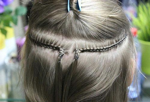 Подготовка к наращиванию волос трессами