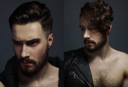 Мужские прически и стрижки с выбритыми висками