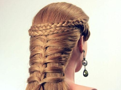 Греческая коса на каждый день