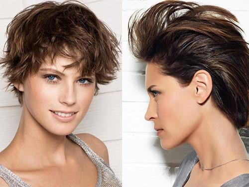 """Прически """"хаос"""" и """"беспорядок""""  для коротких волос"""