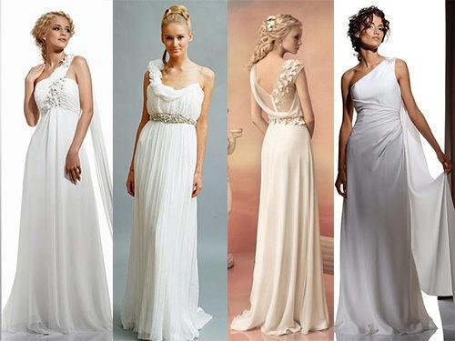 Образы невест в греческом стиле