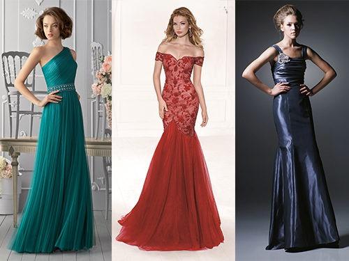 Варианты причесок к платьям с открытыми плечами