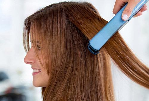 Подготовка волос к прическе