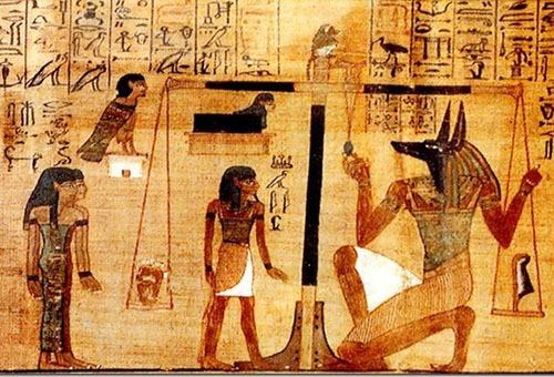 Древнеегипетские рисунки