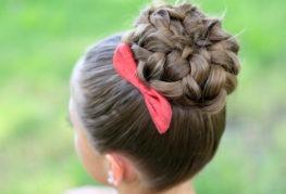 Создаем прически для длинных волос в домашних условиях
