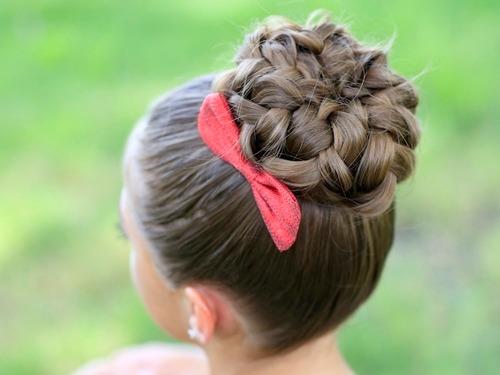 Прически для длинных волос в домашних условиях (фото