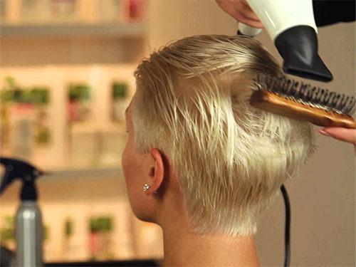 Рекомендации по укладке коротких волос