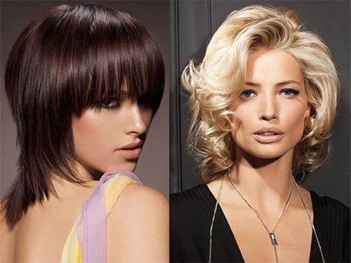 Варианты стильной укладки волос до плеч