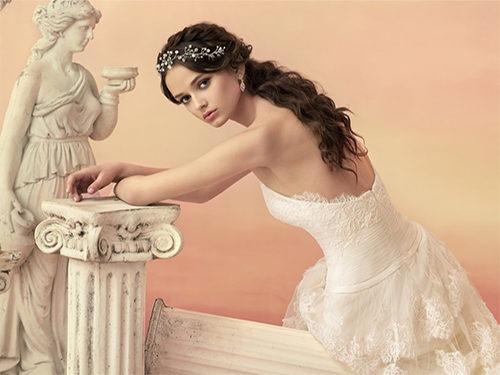 Свадебный образ в греческом стиле