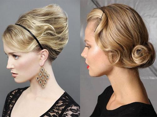 Варианты укладки волос в ракушку