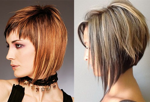 Элегантный боб для волос средней длины