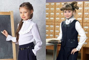 Прически в школу для длинных волос
