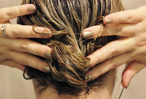 Масляная маска для сухих волос