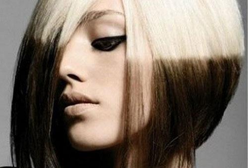 Зональное колорирование светлых волос
