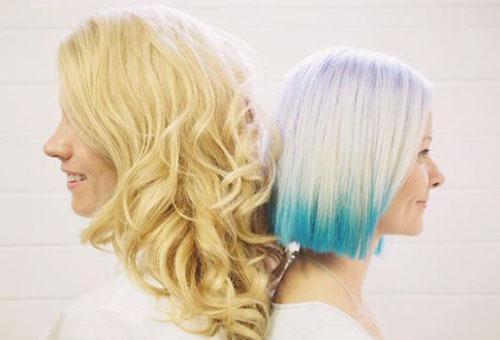 Разные оттенки блонд