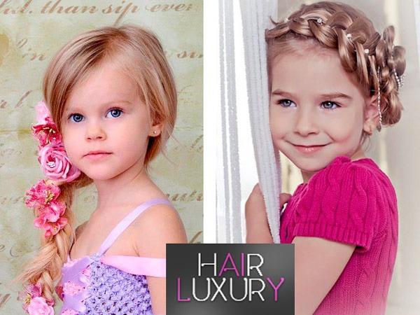 Легкие и красивые прически для девочек на короткие волосы