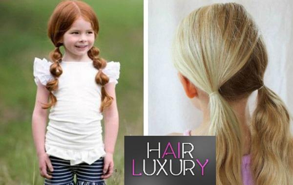 Причёски для девочек в садик за 5 минут - лёгкие, красивые