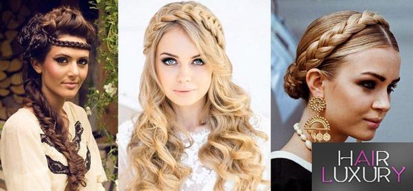 Причёски на волосы до плеч - фото на торжество