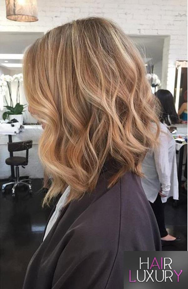 Стрижка боб - на длинные волосы