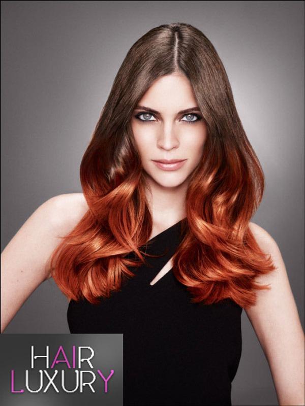 Омбре на светлые волосы: фото