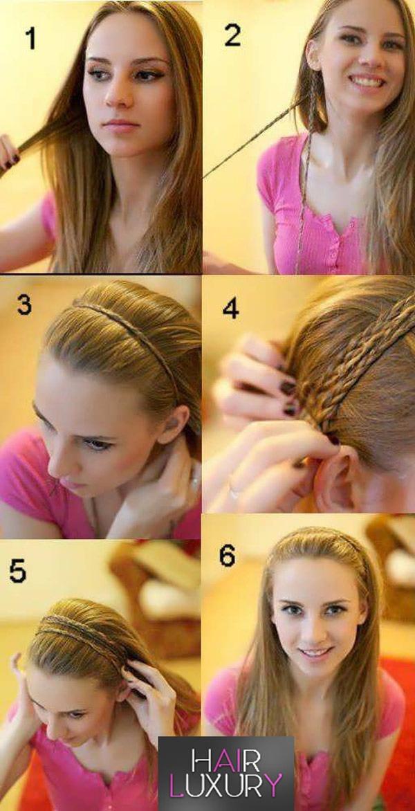 Прически на длинные волосы - на каждый день