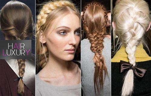 Модные прически 2017: женские на длинные волосы, фото