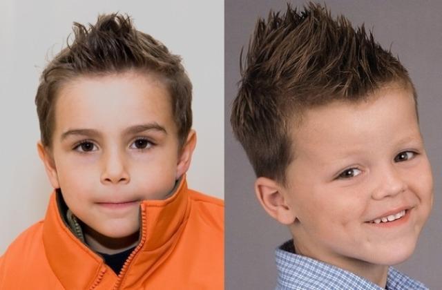 Прически для мальчиков: фото