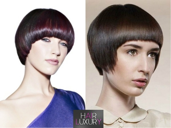 "Стрижка ""Шапочка"" на короткие волосы: фото 2017, вид спереди и сзади фото"